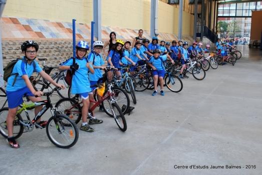 Bicicletada 2016 - 5è de Primària