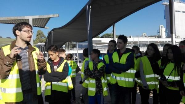 Sortida a la Potabilitzadora d'Aigües Ter-Llobregat 1r ESO