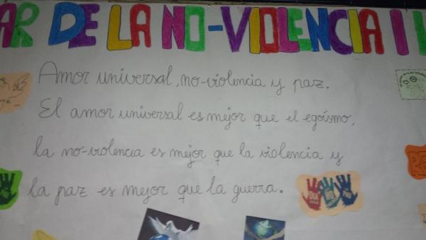 30 de gener, Dia de la NO Violència Escolar