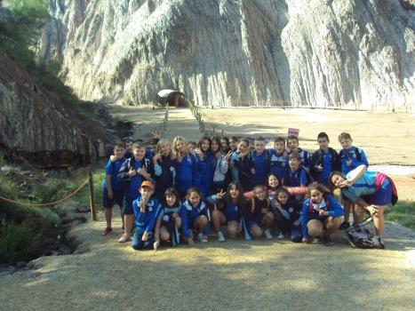 Visita a les mines de Cardona