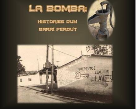 """Premi Ramon Muntaner de l'IRMU al Treball de Recerca """"La Bomba: Històries d'un barri perdut"""""""