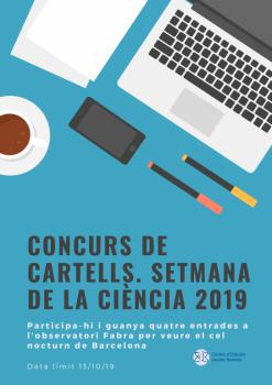 Concurs de cartells de la Setmana de la Ciència 2019