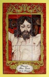 Nuevo Retablo en Málaga. Plazuela del Santísimo Cristo de la Sangre.