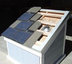 Azulejos que captan la energía solar