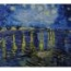 mural,ceramica,azulejo,pintado,mano,decorativo,vangogh