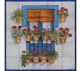 Murales decorativos de azulejos cer micos cer micas alicia guerrero - Murales de azulejos ...