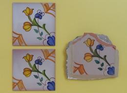 reatauracion,restitucion,ceramica,azulejo