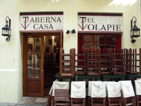 Fachada de azulejos de cerámica Taberna