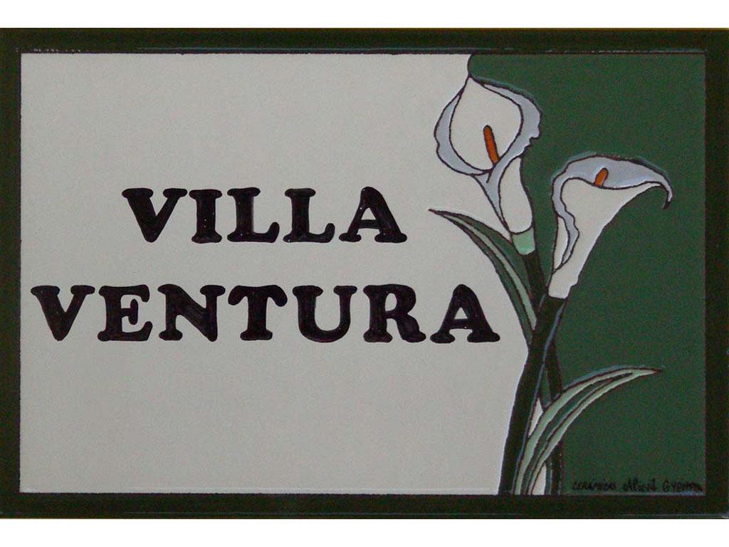 Placa Cerámica Villa Ventura