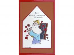 Placa de cerámica religiosa Dios
