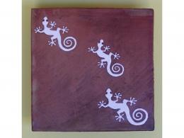 Azulejos rusticos de ceramica decorativos