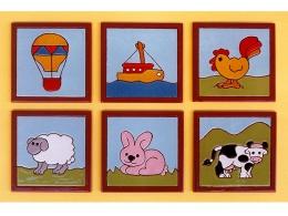 Azulejos de ceramica decorativos animales