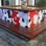 Restauración y sustitución de azulejos de ceramica de bancos