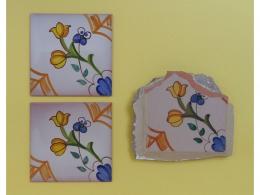 Restauración y sustitución de azulejos de ceramica