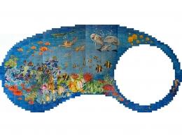 mural,ceramica,azulejo,fondo,piscina,peces,mar,decorativo,reproduccion,marino,pintadoamano,artesano,muraldeceramica,muralceramico,porencargo,moderno,original,copia,tile,ceramic