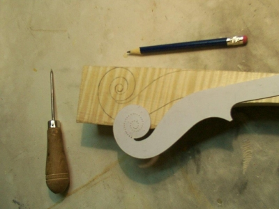 Herramientas necesarias para la construcción de un violín