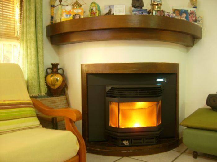 Chimenea de lea para radiadores cool stunning simple - Calefaccion por chimenea ...