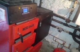 Caldera de biomasa Metal-Fach