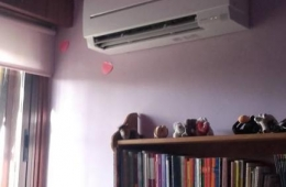 Instalación aire acondiconado Mitsubishi Electric serie SF 2x1 en Monachil, Granada.