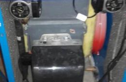 Reparación caldera de gasoil para calefacción y agua caliente en una vivienda en el Monte de los almendros, Salobreña (Granada).