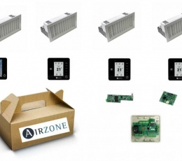 AIRZONE PACK 4 ZONAS