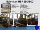 3258 Linea de Corte Behringer HBP-650/800