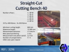 3296 Straight-Cut Cutting Bench 40