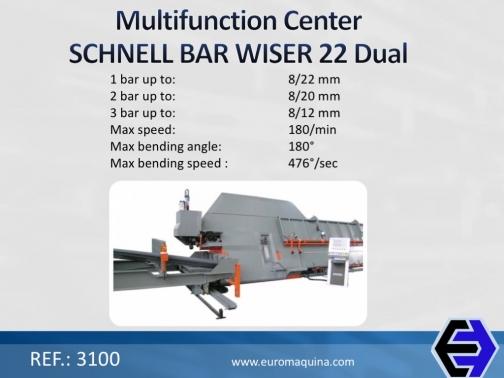 3100 Centro Multifuncional SCHNELL Bar Wiser 22 Dual