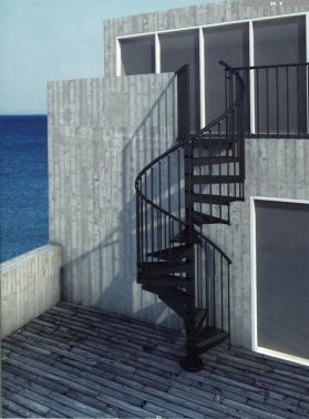 Escalera caracol akua exterior puertas c a m - Dimensiones escalera caracol ...