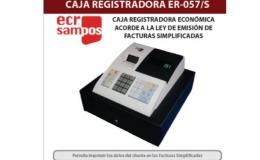 CAJA REGISTRADORA ER-057