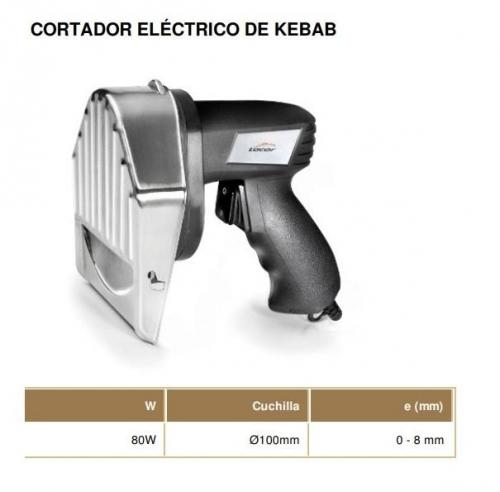 Cortador eléctrico de Kebab