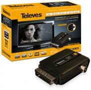 Adaptador TDT Euroconector-USB