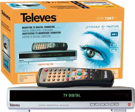 Receptor TDT Televes Ref.7287