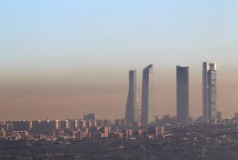 Contaminación en Madrid ( Febrero 2011)
