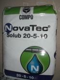 ABONO CRISTALINO NOVATEC SOLUB 20-5-10 (25 Kgr.).