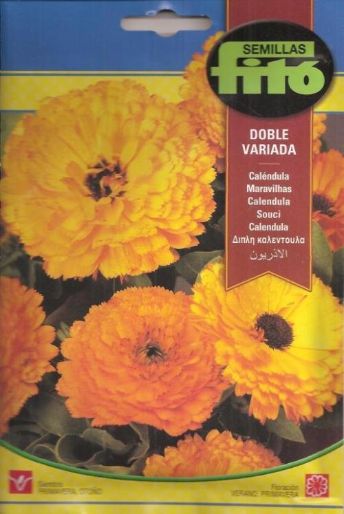 CALENDULA DOBLE VARIADA (8 gr.).