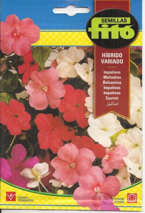 IMPATIENS HIBRIDO VARIADO (0,2 g)