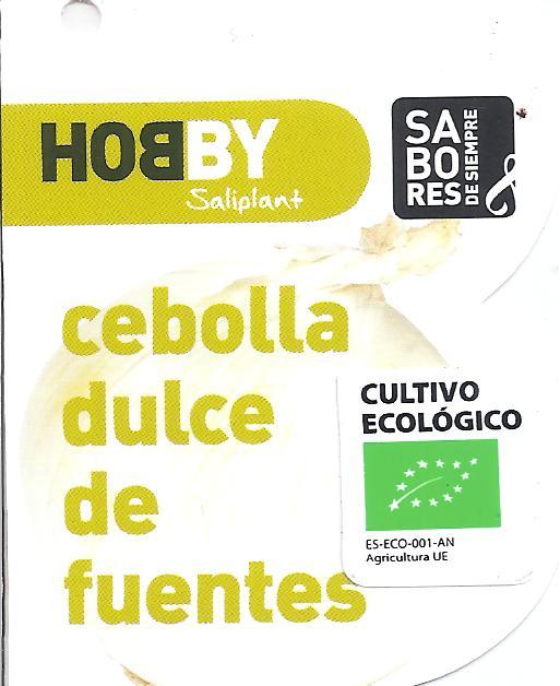 CEBOLLA DULCE DE FUENTES ECOLÓGICA MBE50