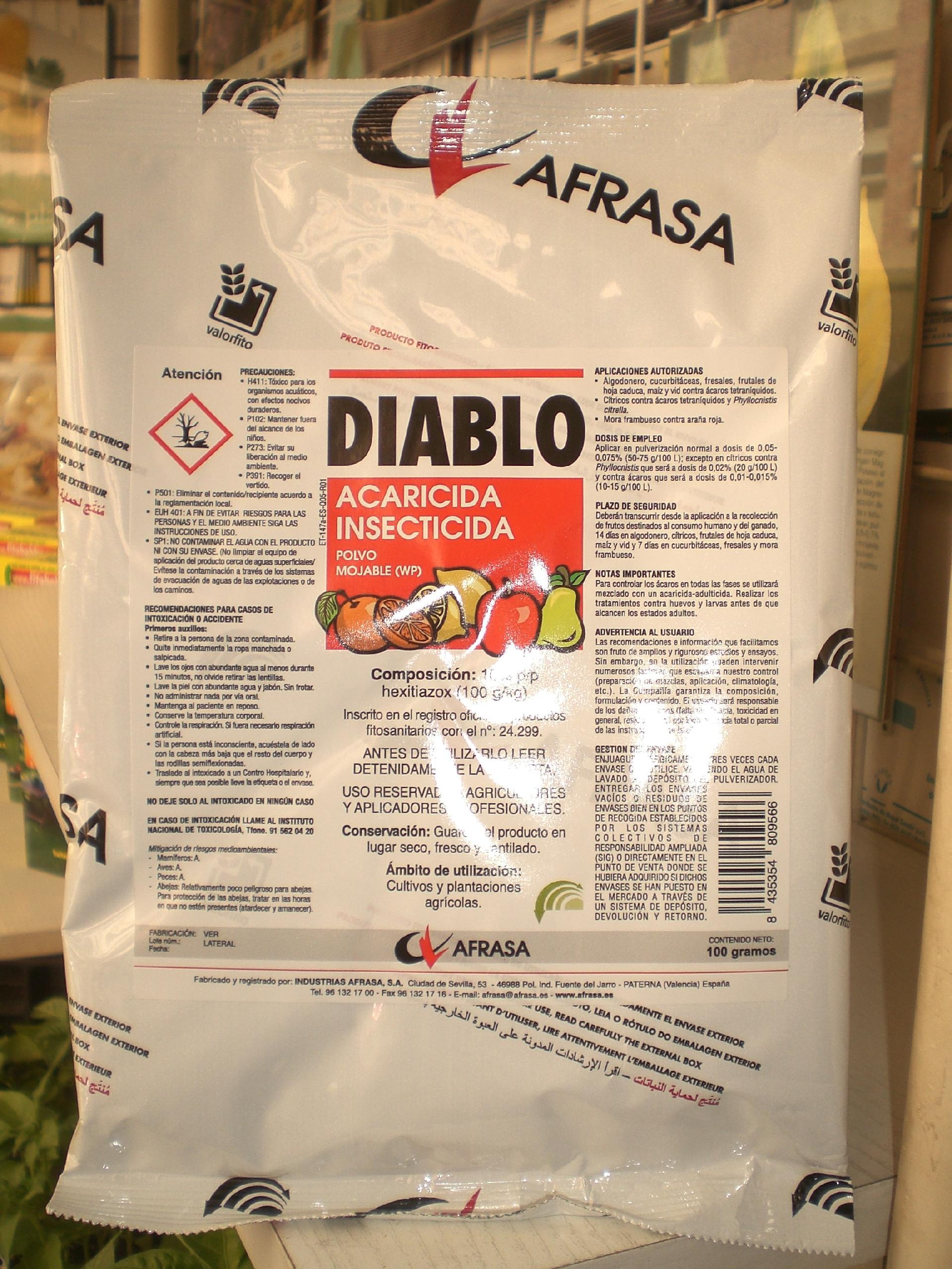 DIABLO (100 gr.).