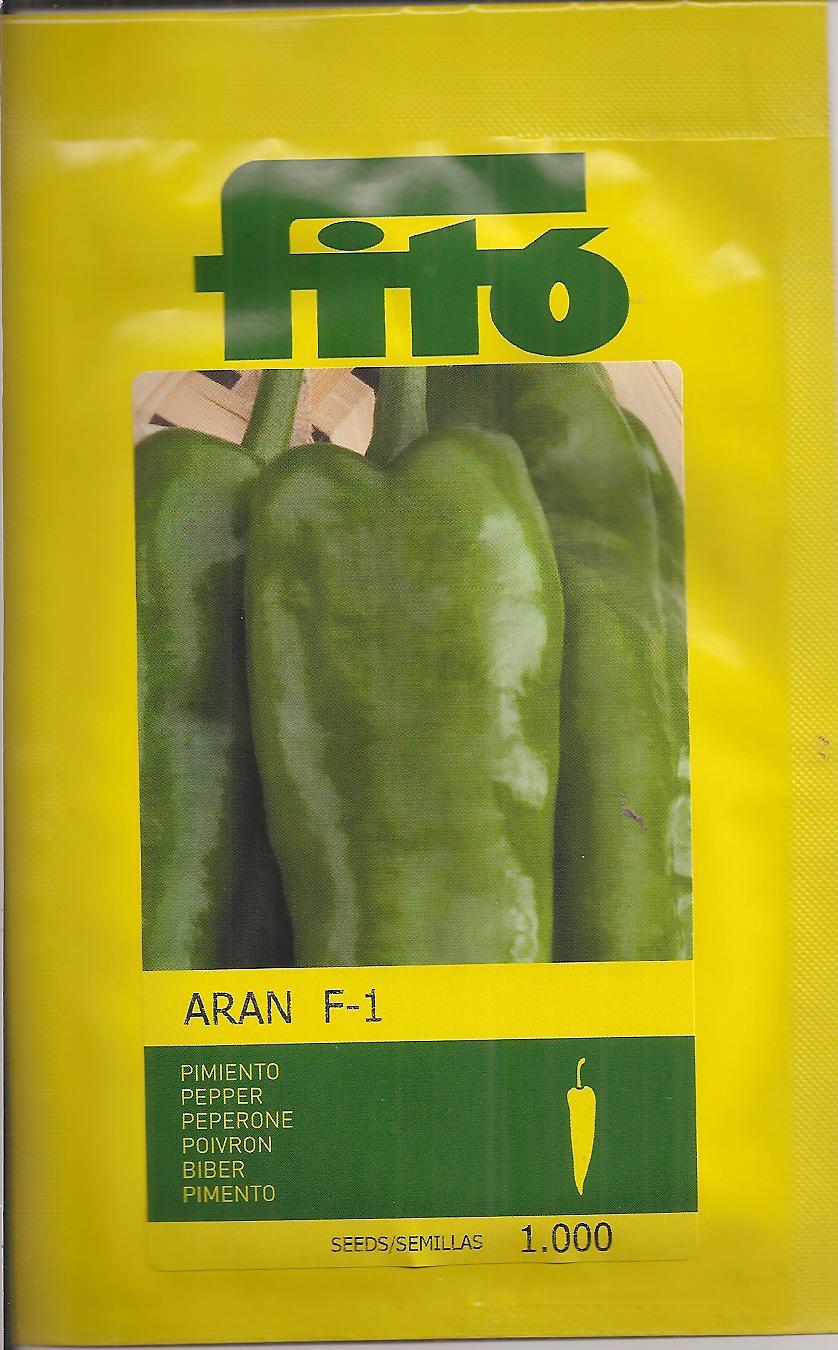 PIMIENTO ARAN F1 NT (1000 Semillas)