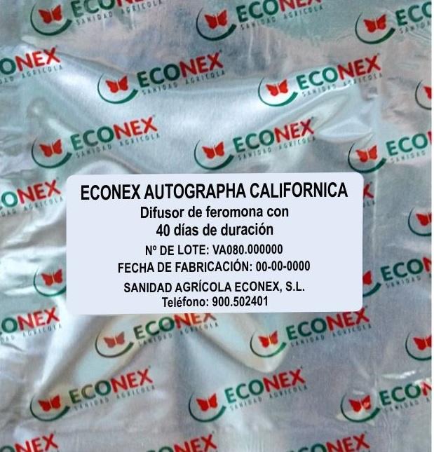 ECONEX AUTOGRAPHA CALIFORNICA (40 días)