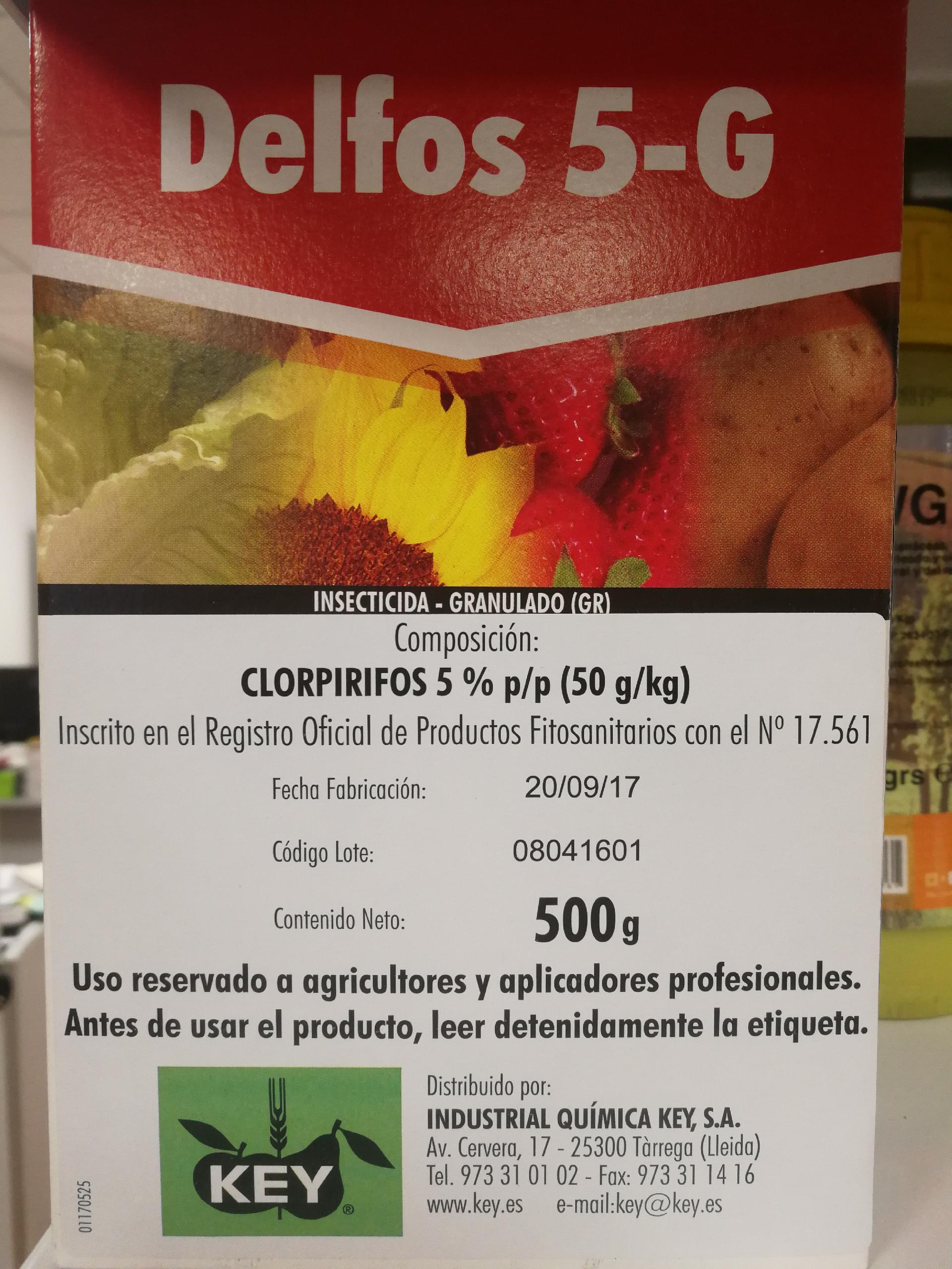DELFOS 5-G (500 gr.).