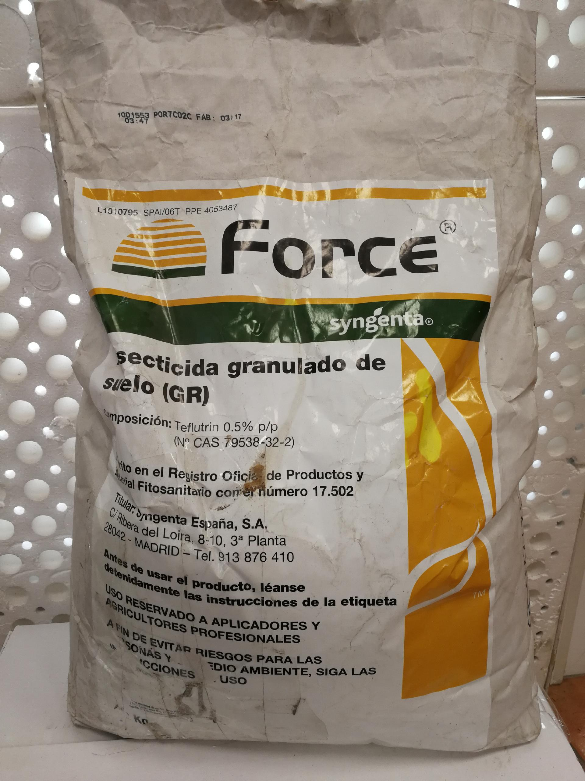 FORCE (10 Kgr.).