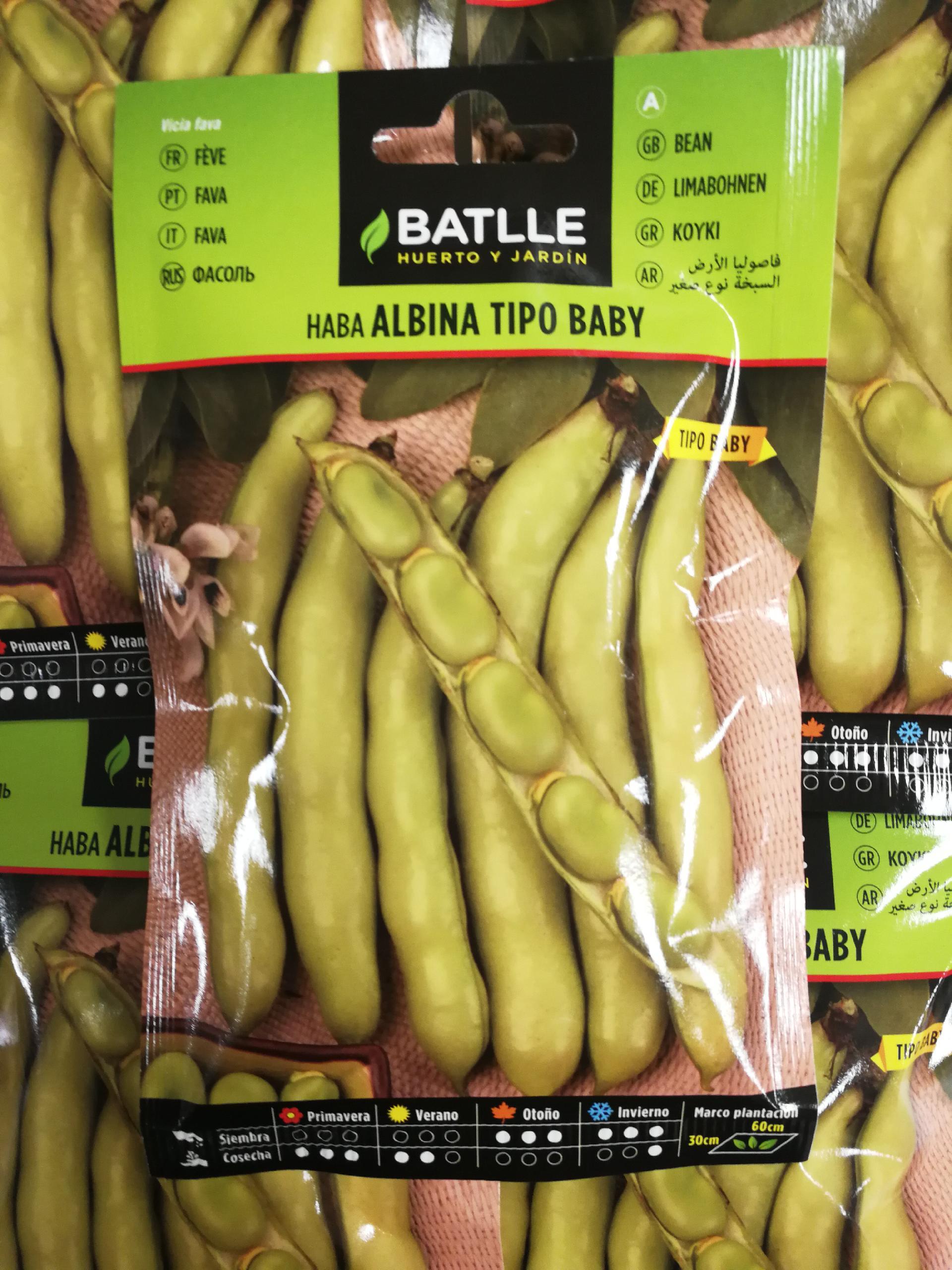HABA ALBINA (50 gr.).