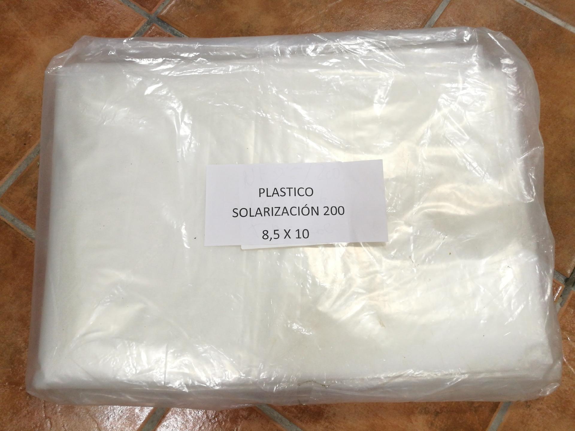 PLASTICO NATURAL SOLARIZACION (200 gg) 8,5x10 METROS