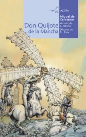 Don Quijote de la Mancha de  Miguel de Cervantes  (Gadir) Edición juvenil adaptada