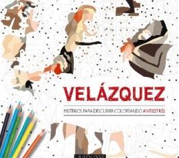 VELAZQUEZ/MISTERIOS PARA DESCUBRIR COLOREANDO...
