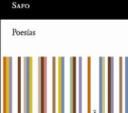 POESIAS/SAFO /