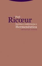ESCRITOS Y CONFERENCIAS 2/HERMENEUTICA /RICOEUR,...
