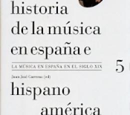 HISTORIA DE LA MUSICA EN ESPAÑA E...5 / CARRERAS,...